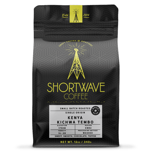Shortwave Coffee Kenya Kichwa Tembo 12oz Bag