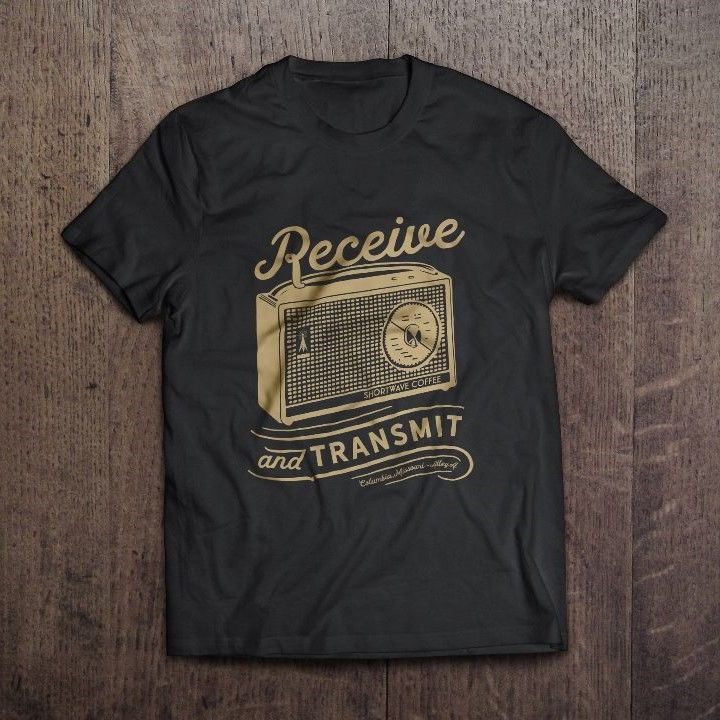 Shortwave Receive and Transmit Tee Shirt